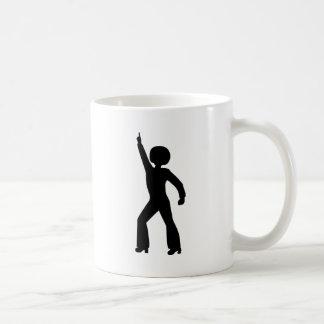 Retro Seventies Man Basic White Mug