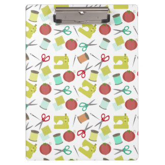 Retro Sewing Pattern Clipboard