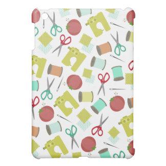 Retro Sewing Theme  iPad Mini Cases