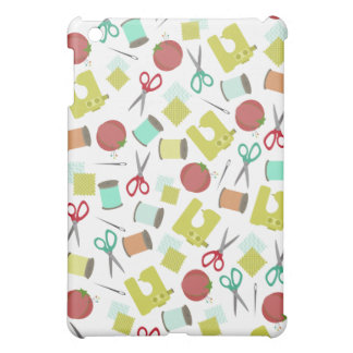 Retro Sewing Themed iPad Mini Case