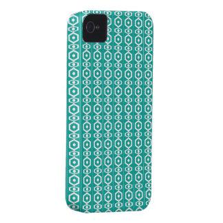 Retro Shape Turquoise Case-Mate iPhone 4 Cases