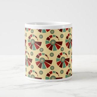 Retro shells-Mug Large Coffee Mug