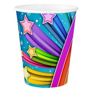 RETRO SIXTIES POP ART SKY PAPER CUP