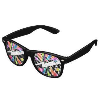 Retro Sixties Pop Star, Black Retro Sunglasses