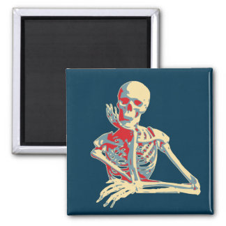Retro Skeleton Magnet