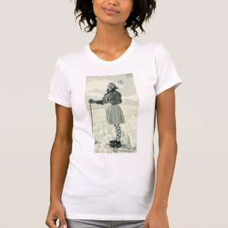 RETRO SKI GIRL SPORT T-Shirt