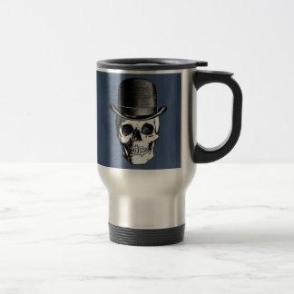 Retro Skull Head 15 Oz Stainless Steel Travel Mug