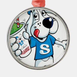 Retro Slush Dog Christmas Ornament