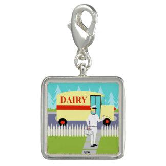 Retro Small Town Milkman Charm