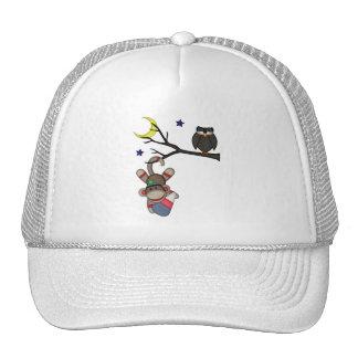 Retro Sock Monkey Trucker Hat