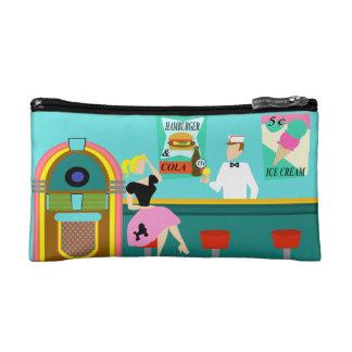 Retro Soda Fountain Cosmetic Bag