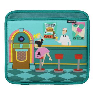 Retro Soda Fountain iPad Sleeve