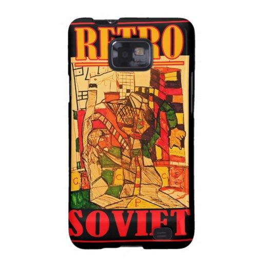 RETRO SOVIET SAMSUNG GALAXY COVER