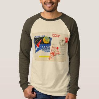 RETRO SPACE AGE Long Sleeve Raglan Tshirts
