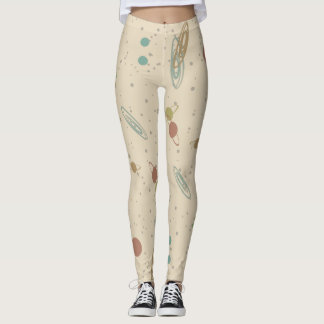 RETRO SPACE by Jetpackcorps Leggings