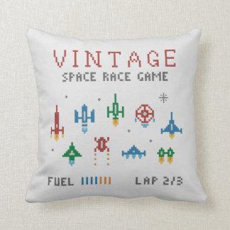 Retro Space Race Cushion