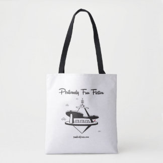Retro Space Station Tote Bag