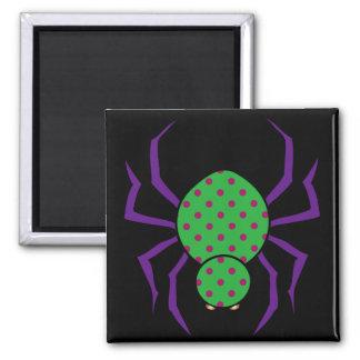 Retro Spider Refrigerator Magnets