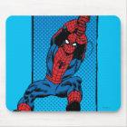 Retro Spider-Man Comic Graphic Mouse Mat
