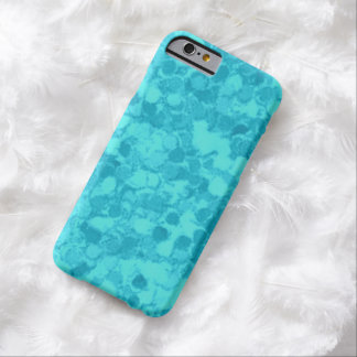 Retro Splash Turquoise Teal Barely There iPhone 6 Case