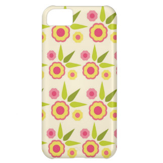 Retro Spring Flowers Cover For iPhone 5C