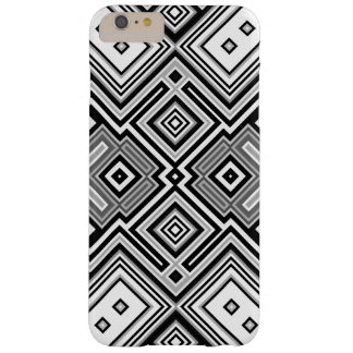 Retro square background barely there iPhone 6 plus case