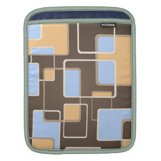 Retro Squares Sleeve For iPads