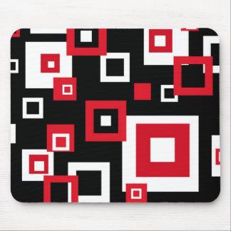 Retro squares - Mousepad