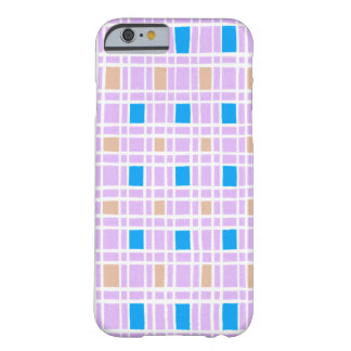 Retro squares pattern barely there iPhone 6 case