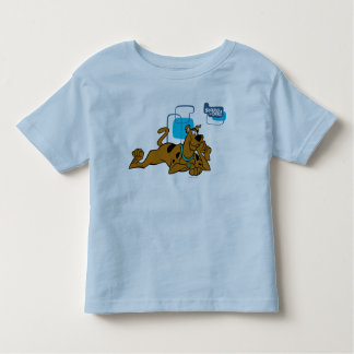 Retro Squares Scooby-Doo Lying Down Toddler T-Shirt