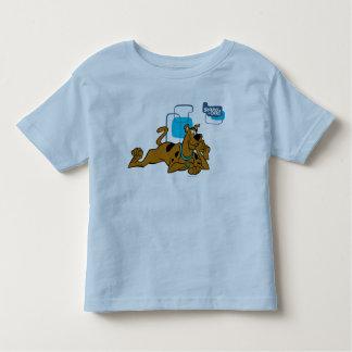 Retro Squares Scooby-Doo Lying Down Tshirt