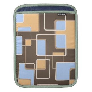 Retro Squares Sleeve For iPads