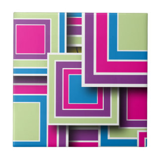 Retro Squares Tile