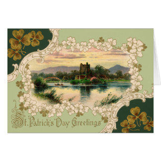 Retro St. Patrick's Day Greeting Card