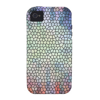Retro stained glass case for the iPhone 4