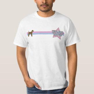Retro Star Airedale Terrier T-Shirt