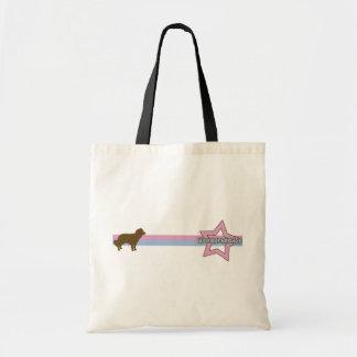 Retro Star Kooikerhondje Tote Bags