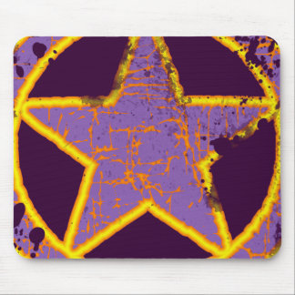 RETRO STAR MOUSE PAD