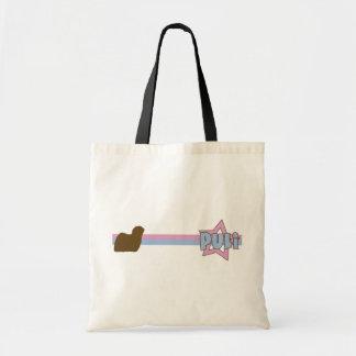 Retro Star Puli Tote Bag
