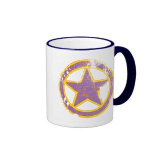 RETRO STAR RINGER COFFEE MUG