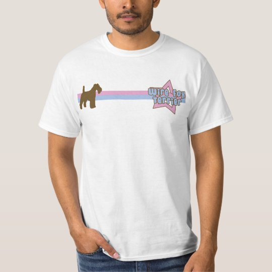Retro Star Wire Fox Terrier T-Shirt