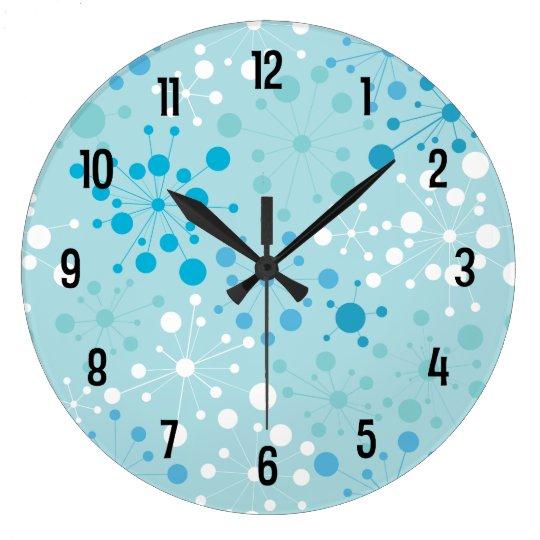 Retro Starburst Wall Clock