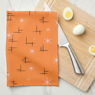 Retro Stars Hand Towel
