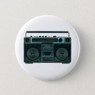 retro stereo button