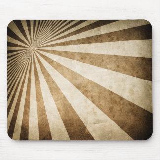Retro stripe pattern background mouse pad