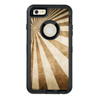 Retro stripe pattern background OtterBox iPhone 6/6s plus case