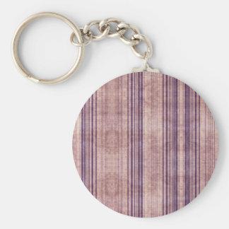 Retro Striped Purple Pink Wallpaper Key Chains