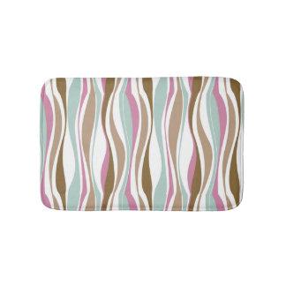 Retro Stripes Bath Mat