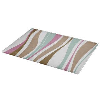 Retro Stripes Cutting Board