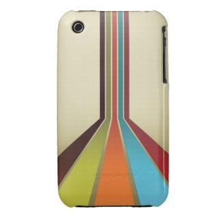 Retro Stripes iPhone 3 Covers